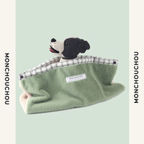 MONCHOUCHOU☆モンシュシュ☆ペット☆Cover Me Blanket Fur Tan Olive