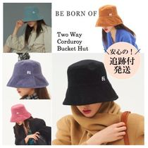 【be born of】Two Way Corduroy Bucket Hut