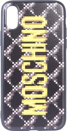 Moschino スマホケース・テックアクセサリー Moschino★【人気】Cute IPHONE X/XS COVER FOR ロゴ