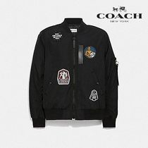 限定★STAR WARS × COACH REVERSIBLE MA-1 JACKET  F78455