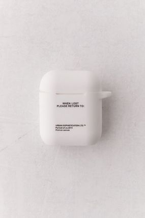 Urban Outfitters スマホケース・テックアクセサリー 日本未入荷! Urban Sophistication Risk Of Losing AirPods Case(3)