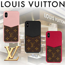 ★LOUIS VUITTON★iPhone XS MAX ケース・バンパー 追跡有