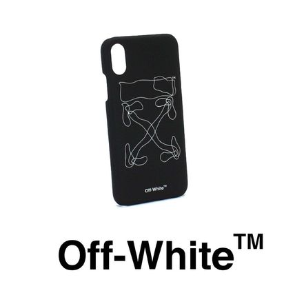 Off-White スマホケース・テックアクセサリー ★OFF-WHITE★ ABSTRACT ARROW iPhone X ケース
