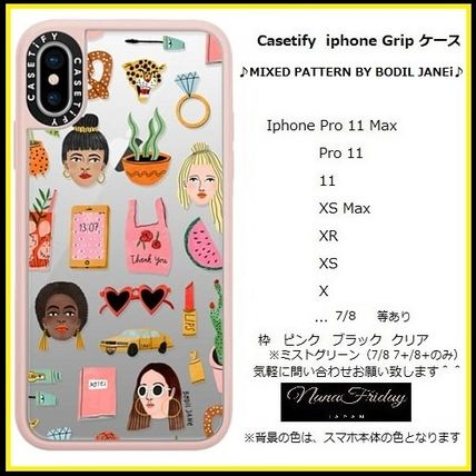 Casetify スマホケース・テックアクセサリー Casetify iphone Gripケース♪MIXED PATTERN BY BODIL JANEi♪