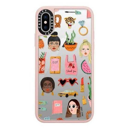 Casetify スマホケース・テックアクセサリー Casetify iphone Gripケース♪MIXED PATTERN BY BODIL JANEi♪(2)