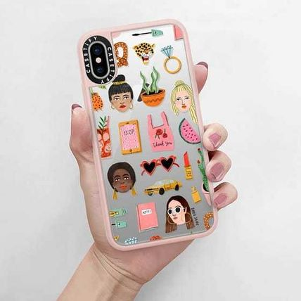 Casetify スマホケース・テックアクセサリー Casetify iphone Gripケース♪MIXED PATTERN BY BODIL JANEi♪(5)