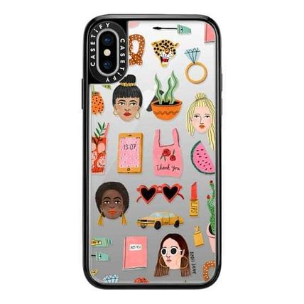 Casetify スマホケース・テックアクセサリー Casetify iphone Gripケース♪MIXED PATTERN BY BODIL JANEi♪(6)