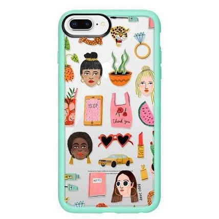 Casetify スマホケース・テックアクセサリー Casetify iphone Gripケース♪MIXED PATTERN BY BODIL JANEi♪(15)