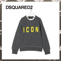 DSQUARED2 / ICON PRINT SWEATSHIRT グレー【関税・送料込】