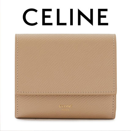 CELINE☆SMALL TRIFOLD WALLET 折りたたみ 財布 / nude