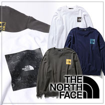 【THE NORTH FACE】SQUARE LOGO レイジロングスリーブスウェット