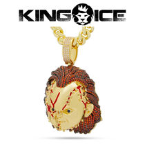 【King Ice】King Ice x Chucky - XL Bad Guy Necklace