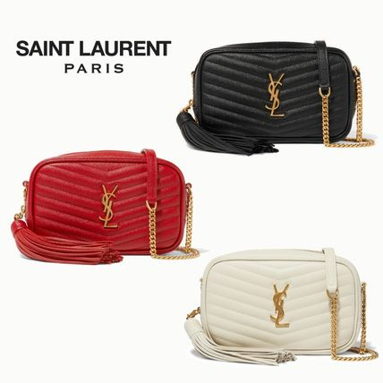 Saint Laurent ショルダーバッグ・ポシェット ∞∞ Saint Laurent ∞∞ Lou mini quilted leather バッグ☆