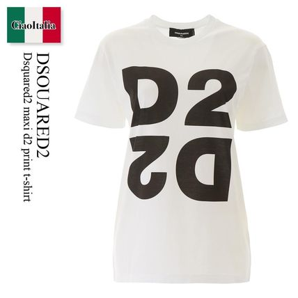 D SQUARED2 Tシャツ・カットソー Dsquared2 maxi d2 print t-shirt