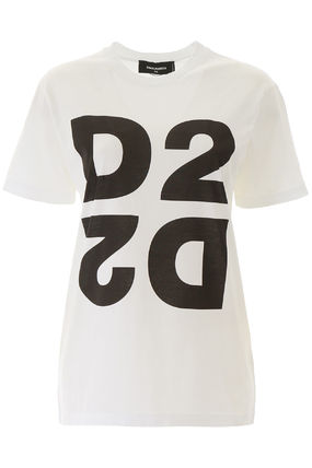 D SQUARED2 Tシャツ・カットソー Dsquared2 maxi d2 print t-shirt(2)