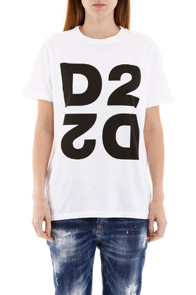 D SQUARED2 Tシャツ・カットソー Dsquared2 maxi d2 print t-shirt(3)