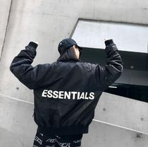 FEAR OF GOD FOG Essentials Bomber Jacket Black