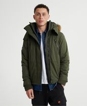Superdry★Microfibre Faux Fur Hooded SD-Windattacker Jacket