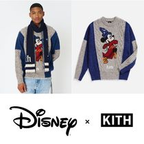【KITH × Disney】40s RYAN CABLE KNIT SWEATER