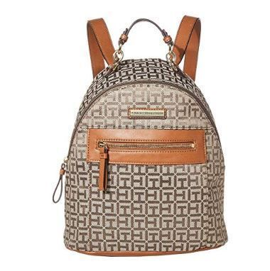 Tommy Hilfiger バックパック・リュック 国内発 関税無 Tommy Hilfiger★Claudia Jacquard Dome Backpack