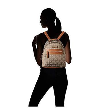 Tommy Hilfiger バックパック・リュック 国内発 関税無 Tommy Hilfiger★Claudia Jacquard Dome Backpack(5)