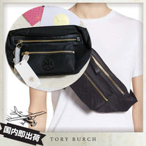 19SS Tory Burch TILDA NYLON BELT BAG ベルトポーチ 2way black