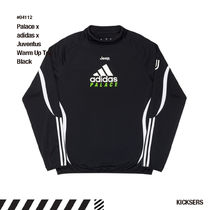 人気話題コラボ!Palace x adidas x Juventus Warm Up Top Black