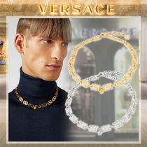 【19AW NEW】VERSACE_men /グレカマニアチェーンネックレス/2色