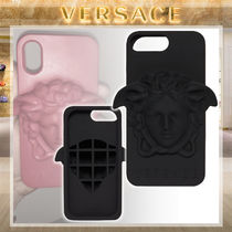 【19AW NEW】VERSACE_men / Medusa シリコン製iPhone ケース/黒
