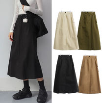 [CLOSE CLIP] DIO CARGO LONG SKIRT 4COLOR ロングスカート