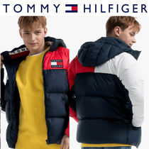 Tommy Hilfiger正規品★Poly Colorblock Regular Down Jacket