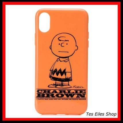 MARC JACOBS スマホケース・テックアクセサリー 【MARC JACOBS】Charlie Brown iPhone X/XS ケース