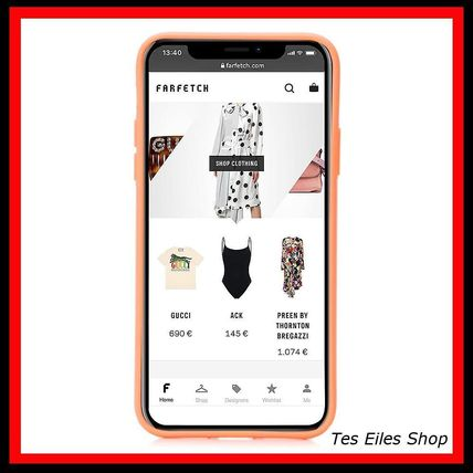 MARC JACOBS スマホケース・テックアクセサリー 【MARC JACOBS】Charlie Brown iPhone X/XS ケース(2)