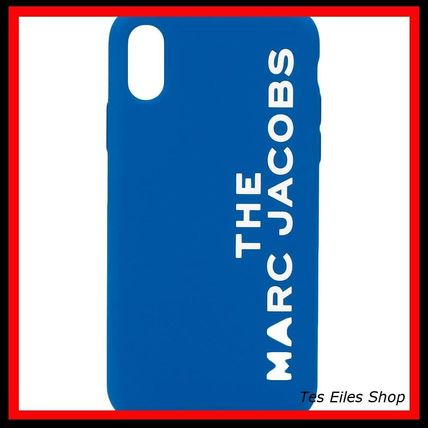 MARC JACOBS スマホケース・テックアクセサリー 【MARC JACOBS】ロゴ iPhone ケース