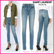 Saint Laurent★素敵!Blue Cotton/Elastane Denim Jeans
