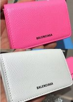 VIP SALE!【BALENCIAGA】Ville Mini Wallet ☆3色