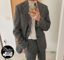 ASCLO Have Tweed Wool Single Suit (2color) SW226 追跡付