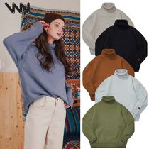 WV PROJECT★正規品★CATHIE TURTLE-NECK KNIT - JJKN7313