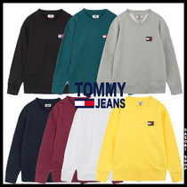 19AW ★TOMMY JEAN★ 兼用  バッジ ロゴ トレーナー 7色