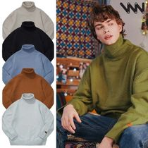 WV PROJECT★CATHIE TURTLE-NECK KNIT 6色 - JJKN7313