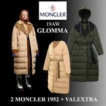 19AW 大人気★2 MONCLER 1952 + VALEXTRA★GLOMMA ロングコート