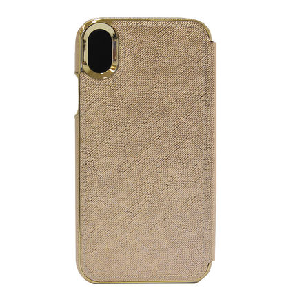 kate spade new york スマホケース・テックアクセサリー 即納*kate spade*SAFFIANO INLAY WRAP FOLIO CASE FOR IPHONE XR(2)