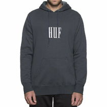 HUF Marka Pullover Hoodie Navy L パーカー