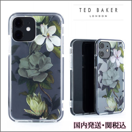 TED BAKER スマホケース・テックアクセサリー 【国内発】TED BAKER iPhoneケース 11/Pro/Max OPAL花柄