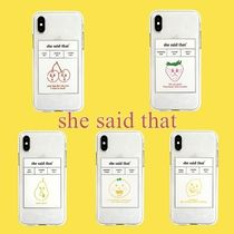 ★she said that★iPhone case 7/8,x/xs,11,11pro【追跡送料込】