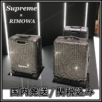 【国内仕入・発送】Supreme × RIMOWA Cabin Plus Black 49L