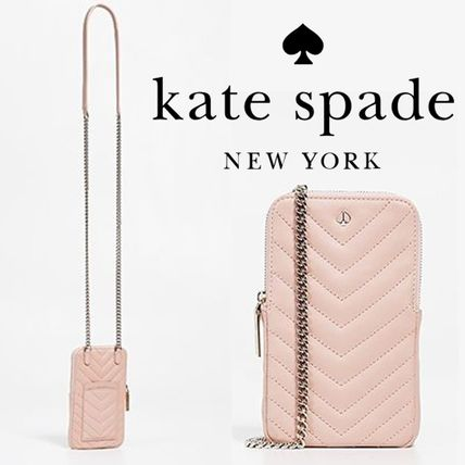 kate spade new york スマホケース・テックアクセサリー 【kate spade new york】amelia iphone case cross body bag