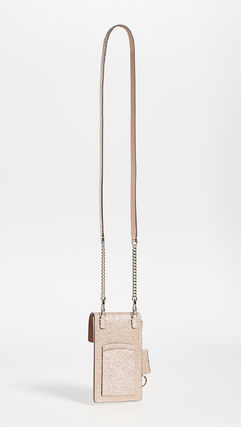 kate spade new york スマホケース・テックアクセサリー 【kate spade new york】Glitter Flap Cross Body Bag(3)