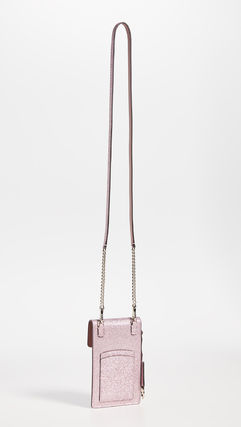 kate spade new york スマホケース・テックアクセサリー 【kate spade new york】Glitter Flap Cross Body Bag(7)
