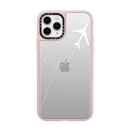 Casetify スマホケース・テックアクセサリー Casetify iphone Gripケース♪Travel #1 White Transparent♪(14)